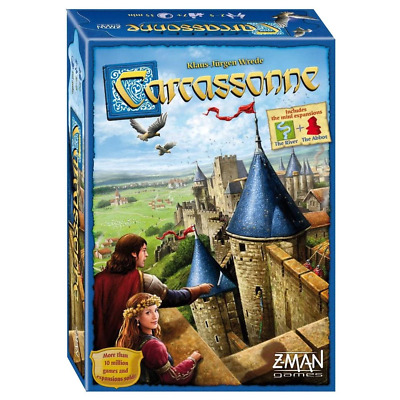 CARCASSONNE Board Game 2.0 Version V2 New Edition Family Easter Game