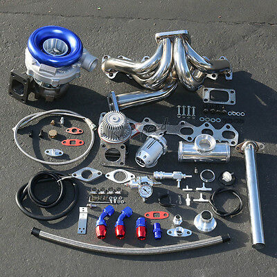 1Jz-Ge Stage Ii Turbo Charger Upgrade Kit 300+Hp For 86-92 Toyota Supra Mk-Iii