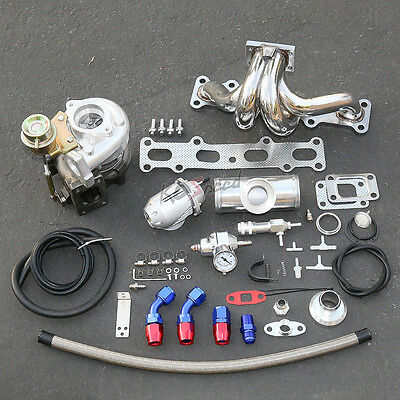 Bp14 Mx5 T25 Stage Ii Turbo Charger Upgrade Kit 300Hp Boost For Mazda Miata 1.8