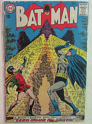 BATMAN Issue #167 Silver Age DC Comic Book 1960s - Priced Under Guide