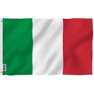 Anley Fly Breeze 3x5 Foot Italy Flag Italy National Flags Polyester 3 X 5 Foot