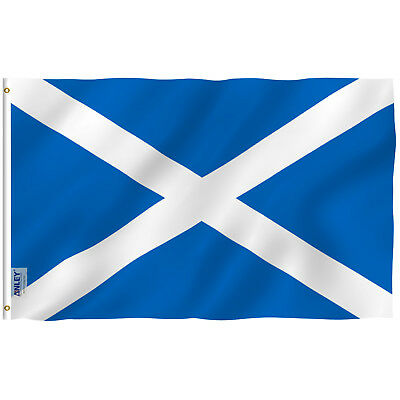 Anley Fly Breeze 3x5 Foot Scotland Flag Scottish National Flags Polyester