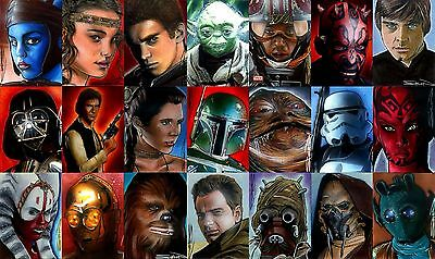 We help you collect Star Wars or Star Trek cards from USA.  90 days free storage