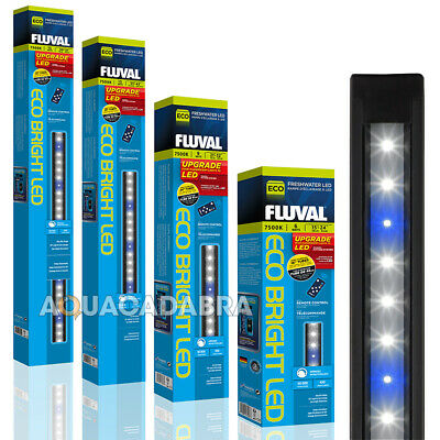 Fluval Eco Bright Freshwater White Led Lighting Strip Light Fish Tank Planted T8