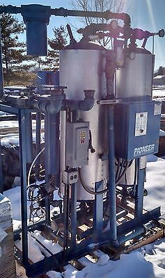 Pioneer External Heater Regenerative Air Dryer Model PHE-350, 350 SCFM Air Dryer