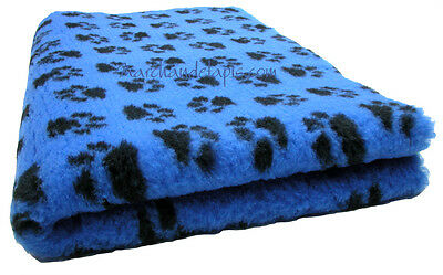 Drybed® Antiderapant Bleu Pattes Noires