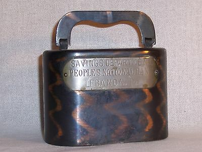 Antique Coin Bank Pat 1892, Mfg by CD Burns Co. N.Y.
