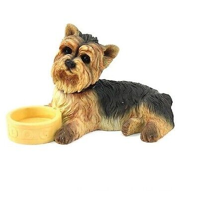 yorkshire terrier yorkie ornament figurine collectable leonardo collection gift