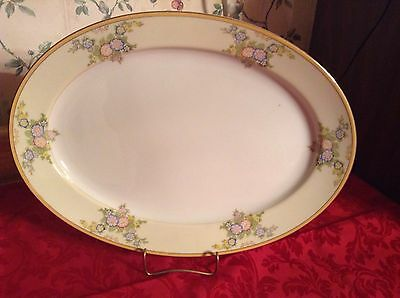 """Vintage Meito China MEI357 LRG 161/4"""" Serving platter EXC Condition"""