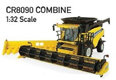 NEW HOLLAND CR8090 COMBINE HARVESTER DIECAST REPLICA 1:32 Scale Part# ERT13830