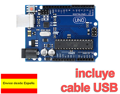 UNO R3 Rev3 ATmega328 16U2 Arduino 100% Compatible cable USB ULTIMA VERSION B009