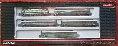 New Marklin 81441 Mini Club Z Gauge Bbo Austrian Express Passenger Train Pck Iii