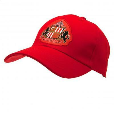 Official Licensed Football Product Sunderland AFC Baseball Cap Crest Adult Gift