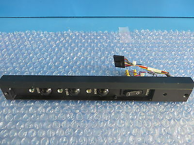 Asyst 9700-3732-01 LPT2200 LPI2200 Control Panel with on/off switch