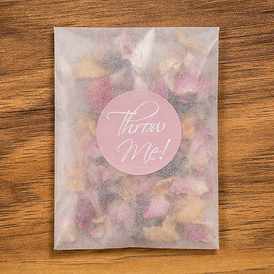 Real Petal Biodegradable Confetti Packets Slowfall Vintage Mix