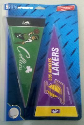 Set of NBA Basketball Team mini pennants 30 teams NEW!