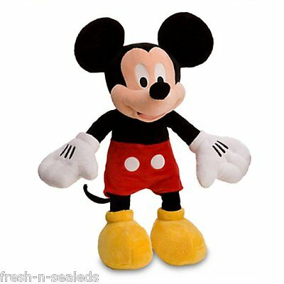 Disney's Mickey Mouse Plush Toy 17'' Soft Doll Clubhouse New
