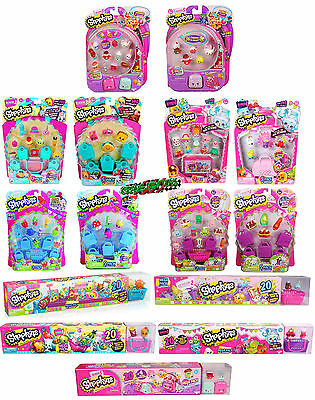 Shopkins Season 7 6 5 4 3 2 1 5-Pack 12-Pack 20-Pack Mega Packs Blind Figures