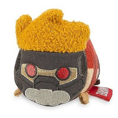 "Disney Store Tsum Tsum STAR LORD Guardians Of The Galaxy Plush 3 ½"" Mini"