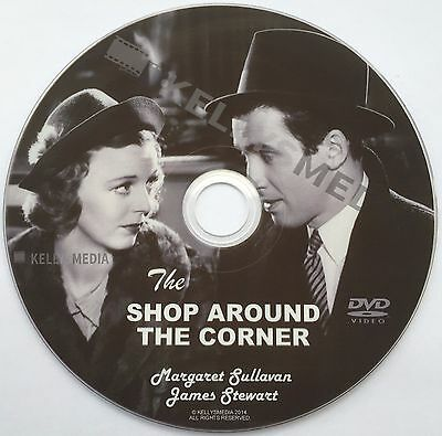 The Shop Around The Corner (1940) Margaret Sullavan & James Stewart On Dvd