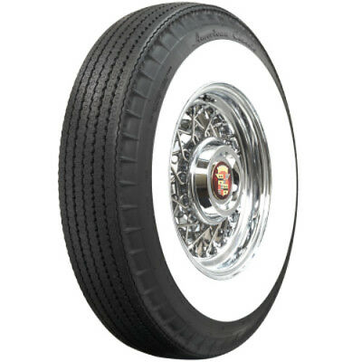 """760R15 Bias Look American Classic 3 1/4"""" WW Radial Tire -*Save On Set Of Four*"""