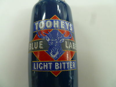 Tooheys Blue Label Beer Andale Tap Handle . Excellent Condition