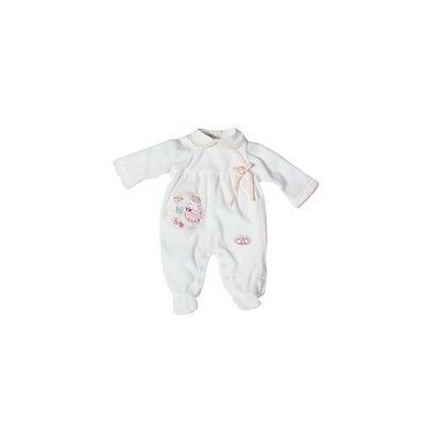 New Zapf Creations Baby Annabell Doll Romper Outfit Clothes White 794272 Dolls