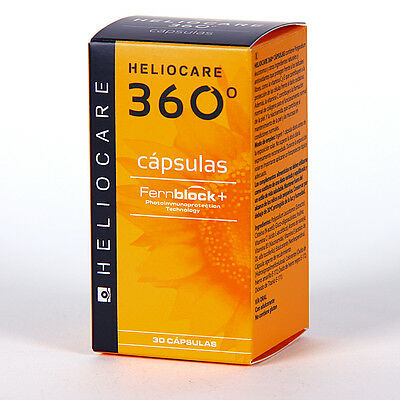 HELIOCARE 360º 30 Capsules Oral Sunscreen EXP.DATE 07/2019