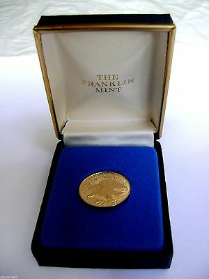 USA GOLD PROOF -Gold Medal Bicentennial Council of 13 Original States Wt 1/20 Oz