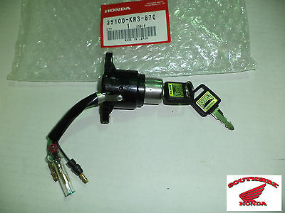 Genuine Honda Ignition Switch Assembly With 2 Keys Rebel 250 Cmx250C