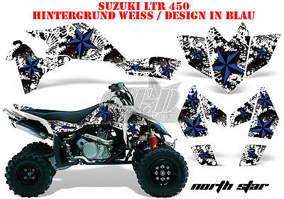 Amr Racing Dekor Graphic Kit Atv Suzuki Ltr 450 Lt-R Northstar B