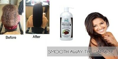 Rio Chocolate Brazilian Keratin Blow Dry Hair Treatment w/ Shampoo & Conditioner