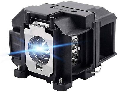Replacement Lamp W/Housing For EPSON ELPLP67 / V13H010L67 EB-S02/S11/S12/SXW11