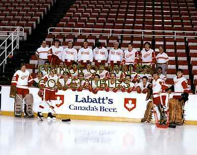 1986 Detroit Red Wings Team Photo 8X10