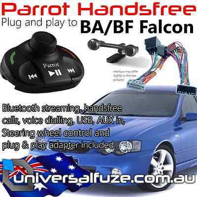 Parrot MKi9000 USB, Bluetooth, Voice Nav for Ford BA/BF Falcon Plug & Play!!