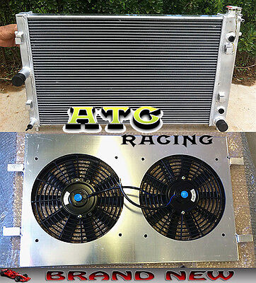 52mm for Holden Commodore VZ LS1 LS2 SS V8 Aluminum Radiator + Shroud +  Fans