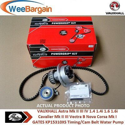 VAUXHALL Astra Mk II III IV 1.4 1.6 KP15310XS Timing Cam/Belt Kit and Water Pump