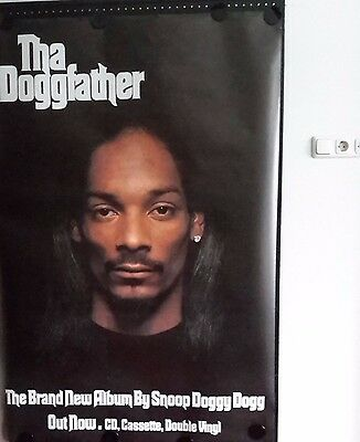 Snoop D.D.-Tha Dogfather. Orig. Promo Poster. FREE INT.SHIPPING. 40x60inch