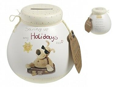 Pot Of Dreams Ceramic Money Box/ Pot BOOFLE HOLIDAY 401083  Break To Open