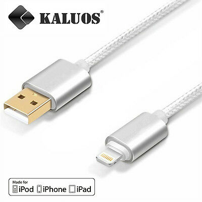 Original Kaluos Charging USB Cable For iPhone 6 6S 5S 7 5C iPad Power Data Lead