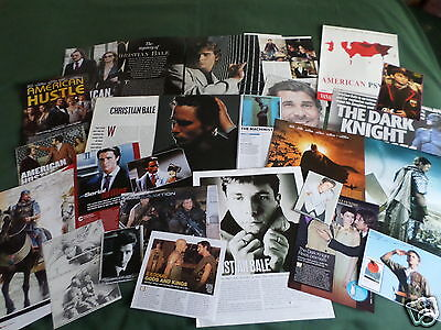 Christian Bale - Film Star - Clippings /cuttings Pack
