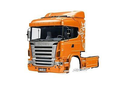 Tamiya 1:14 complete Driver's cab Scania R470 unpainted, Kit