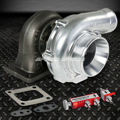 T4 A/r.70 60 Trim 380+Hp Upgrade V-Band Stage Iii Turbo Charger+Boost Controlle