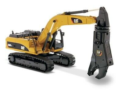 Caterpillar 1:50 Scale Diecast 330D L Hydraulic Excavator With Shear 85199 CAT