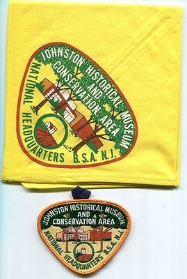 Neckerchief And Pocket Patch From The Johnston Historical Museum