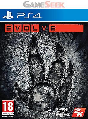Evolve - Playstation Ps4 Brand New Free Delivery