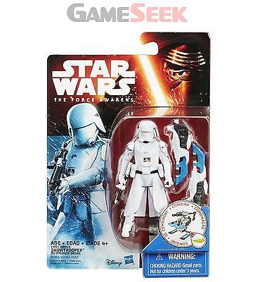 "Star Wars The Force Awakens 3.75"" Figure First Order Snowtrooper - New"