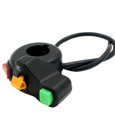 Motorcycle Universal Handlebar Control Switch Light Horn Indicator Bar ATV Quad