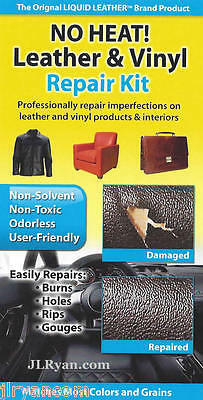 Liquid Leather No Heat Leather and Vinyl Repair Kit > Fast, FREE Shipping!