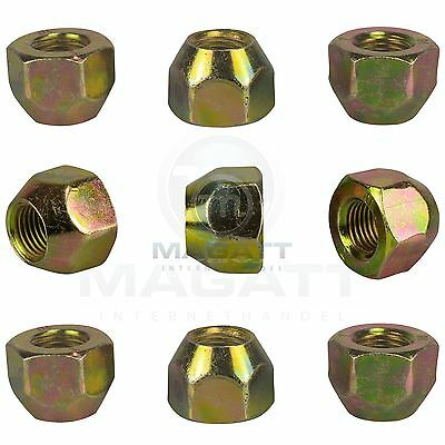 16 Wheel Nuts For Aluminium Rims & Steel Magentis Optima Picanto Rio 1 2 3